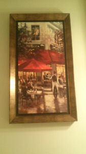 Painting Print with wood frame - Moving out sale