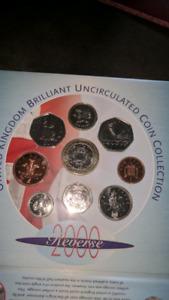 Collectable coin set