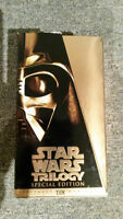 Collection trilogie Star Wars VHS et collection DVD Lelouch