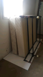 2 double box springs and frames