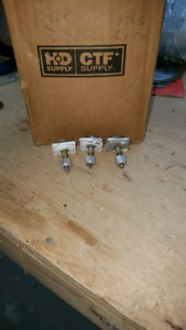 Snowmobile studs, stud, backers, aluminum nuts, nut, nuts