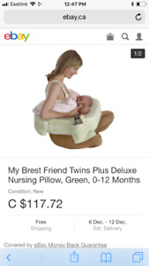 My Brest friend nursing pillow never used