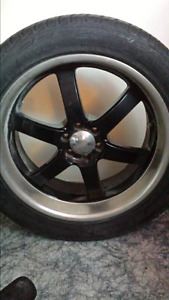 "20"" rims with low pro tires 6 bolt"