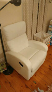 White Recliner Chair from Structube - Like New Kingston Kingston Area image 2