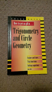 COLES notes for Trigometry and Circle Geometry and Physics Kitchener / Waterloo Kitchener Area image 2