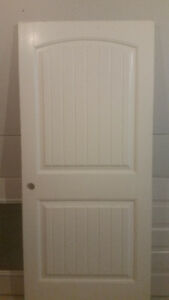 2 interior doors - 36 inches wide - right hand swing