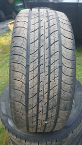 Set of 215 55 r 17 tires  for sale