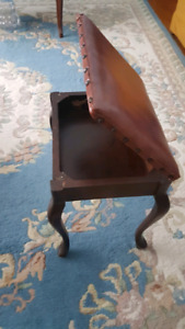 100 year old storage stool - beautiful condition