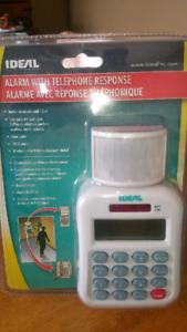 Alarm With Phone Response