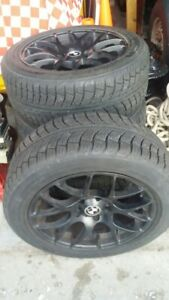 4 NANKANG SNOW VIVA SV-1 TIRES ON ALLOY RIMS