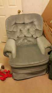 2 older style chairs.