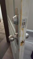 BEST PRICES FOR Repair a Cracked Door Frame, KICKED IN DOOR FRAM