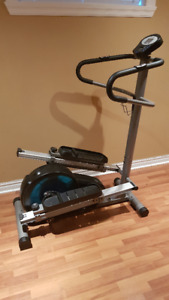 Elliptical and Stairmaster fitness equipment in 1