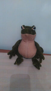 MerryThought Ironbridge Shrops Made In England Green Frog