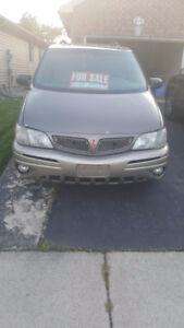 2004 Pontiac Montana Ext Minivan, Van