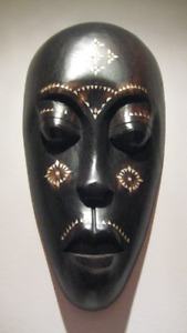 Large Hand carved  Wood Mask from Africa