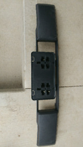 F-150 bumper insert and licence plate bracket