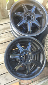 Rims: 17 inch rims $250 OBO Kitchener / Waterloo Kitchener Area image 2