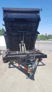 Dump trailers for rent!