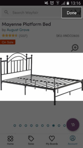 Brand new Queen-size Bed Frame