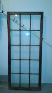 Antique 15 Pane Wooden Windows