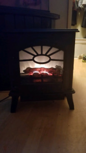 Space heater fireplace