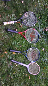 4 rackets $10 for all
