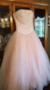 Pink grad dress for sale