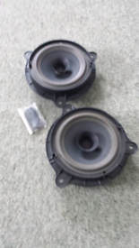 Car speaker Kenwood active 100watt sub with wiring and ... on