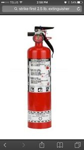 2.5 lb. Strike First Fire Extinguisher Peterborough Peterborough Area image 1