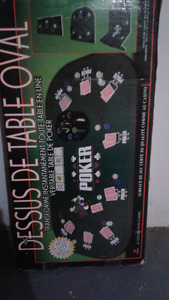 Poker table top! Excellent condition