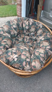 Wicker Comfy Chair