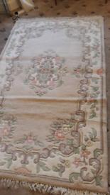 Wool traditional rug