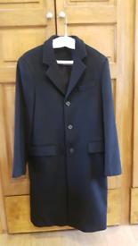 Luigi Lazzari Black Overcoat
