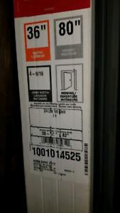 """36""""×80"""" door with frame brand new"""