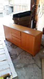 Sturdy Hardwood Cabinet