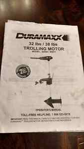 Duramaxx 32 lb Trolling Motor - with Manual and Extra Propeller Cornwall Ontario image 7