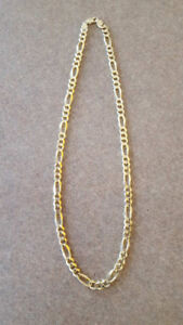 "22"" 10k gold chain for sale"