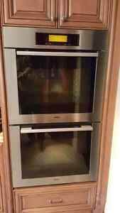 Miele double wall oven only $250 obo