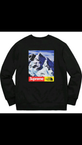 Selling Supreme x North Face Mountain Crewneck