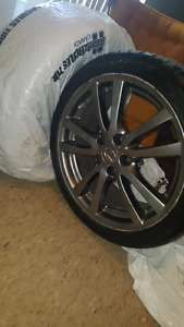 4x Original lexus summer tires original rims