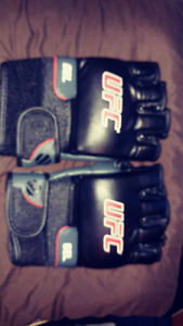 Authentic UFC Gel MMA Gloves