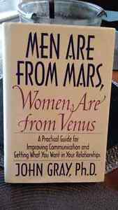 "Book ""Men are from Mars Women are from Venus "" $5"