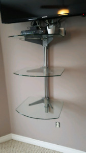 Wall mounted electronic component Stand