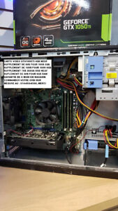 Ordinateur gaming i7 3.6 Ghz 16 GB 240 SSD GTX1060 6 Go