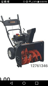 Remington Snowblower - Used one season