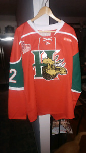 BRAND NEW HALIFAX MOOSEHEADS HOCKEY JERSEYS