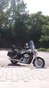 For Sale a very clean honda750 2001