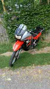 Showroom Condition Kawasaki KLR 650 With Extremely Low Milage