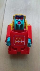 Vintage 1987 McDonalds Changeables Transforming French Fries Toy